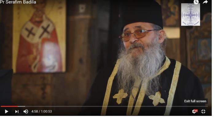 Să ne cunoaștem Părinții Duhovnici: azi, Pr Serafim Badila de la Mînăstirea Cășiel, care mai înainte a fost învățător. Despre nașterea și creșterea copiilor și despre viitorulRomâniei.