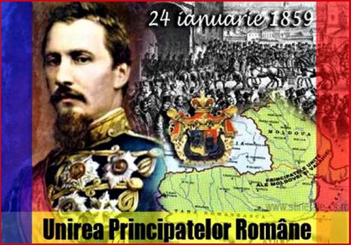 24 ianuarie 1859 - Mica Unire