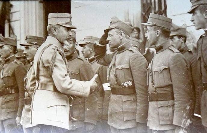 CENTENARUL MARII UNIRI 1918-2018, evocat de Grupul ARBOROASA, Facebook: Corpul de voluntari ardeleni și bucovineni,1918.