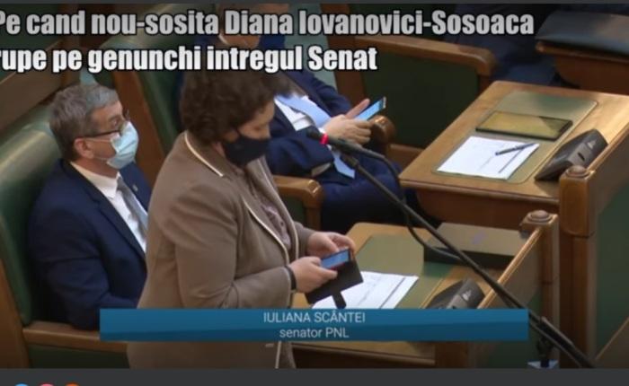 """Rechizitoriul """"gloabelor sistemice"""" din Parlamentul României, de Avocat Iulia Medeleanu. ÎN colimator: non-entitatea toxică pe nume Iulia Scintei, impostor senator de Iași, care cere CENZURAREA Adevăratului Senator de Iași și de ROMÂNIA, Avocat Diana Iovanovici-Şoşoaca. – De la Ziarul FB, astăzi. Spicuim din cuprins: """"Vremea celor ca tine, madam, apune cu viteza luminii. Ție, de acolo de jos, din groapa imposturii și trădării in care te afli, Diana îți stă în ochi, îți stă în gît, îți stă înfiptă în complexul de inferioritate."""""""